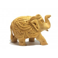 Carved Elephant Set of Three