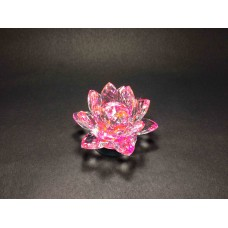 Crystal Lotus Flower Pink