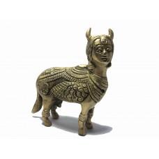 Kamdhenu Cow Brass